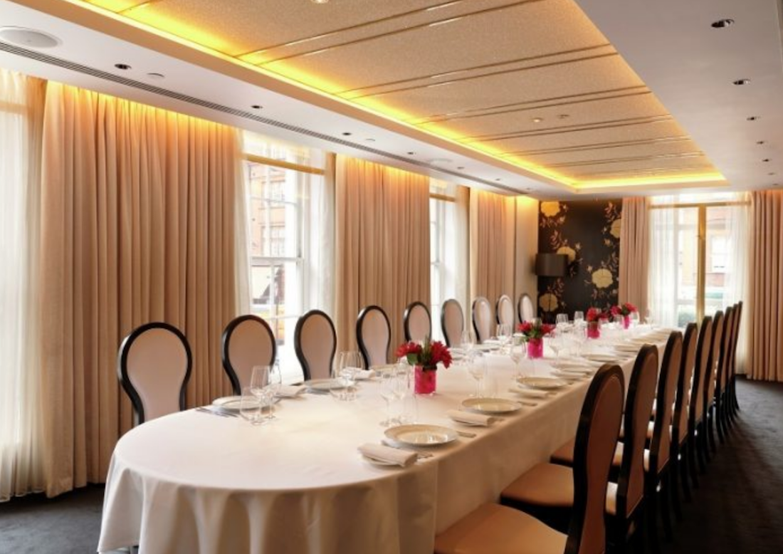 the best private dining rooms in london guide private