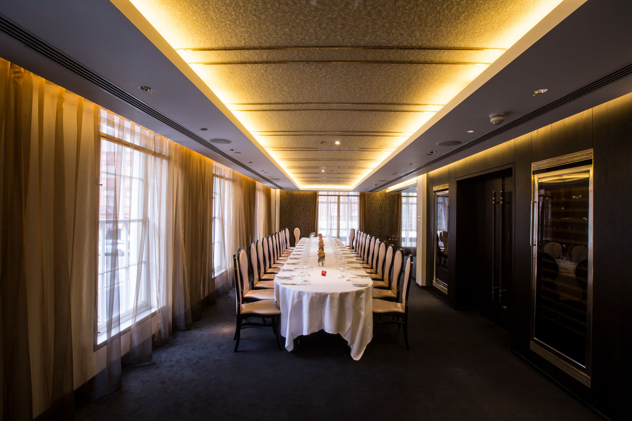 Private dining rooms london for Best private dining rooms uk