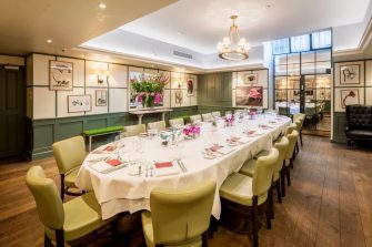 1 Lombard Street Private Dining Room Image