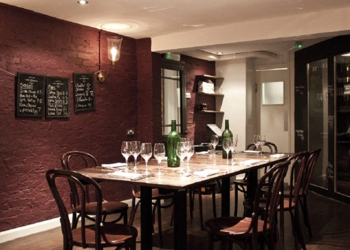 Luxury private dining rooms at the 10 cases for Best private dining rooms covent garden