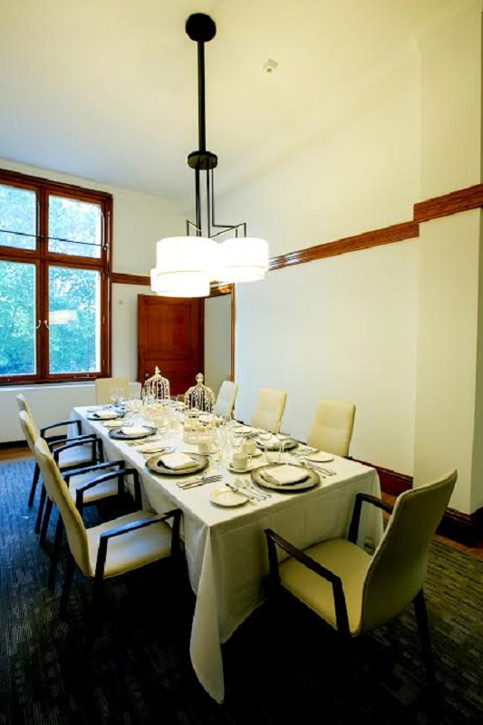 Luxury private dining rooms at 30 euston square for Best private dining rooms uk