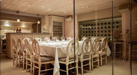 Aubaine Heddon Street Private Dining Room Image2