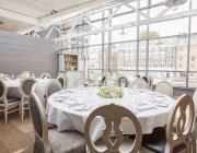 Aubaine Marylebone Private Dining Room Image4
