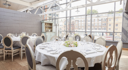 Aubaine Marylebone Private Dining Room Image5