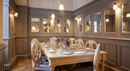 luxury private dining party rooms in mayfair