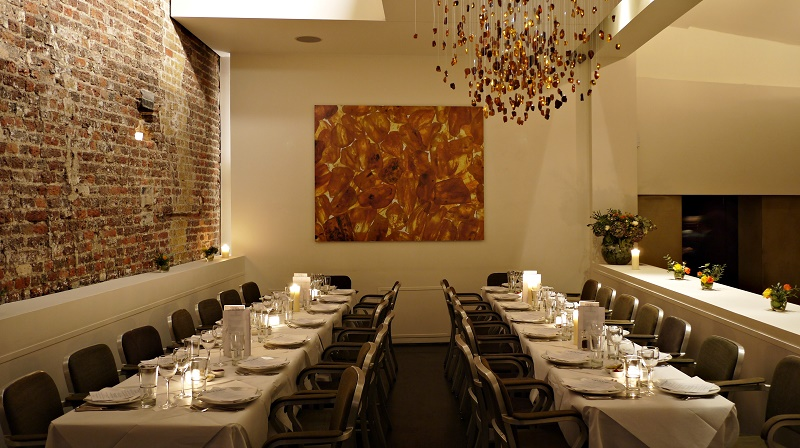 luxury private dining rooms at baltic restaurant bar