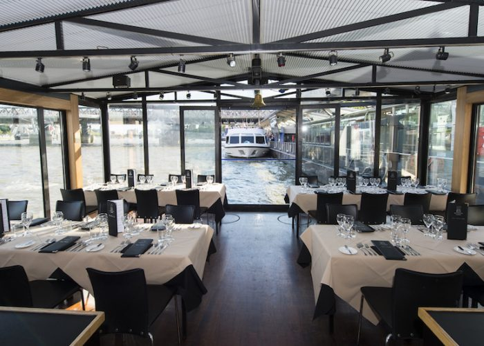 luxury private dining rooms at bateaux london