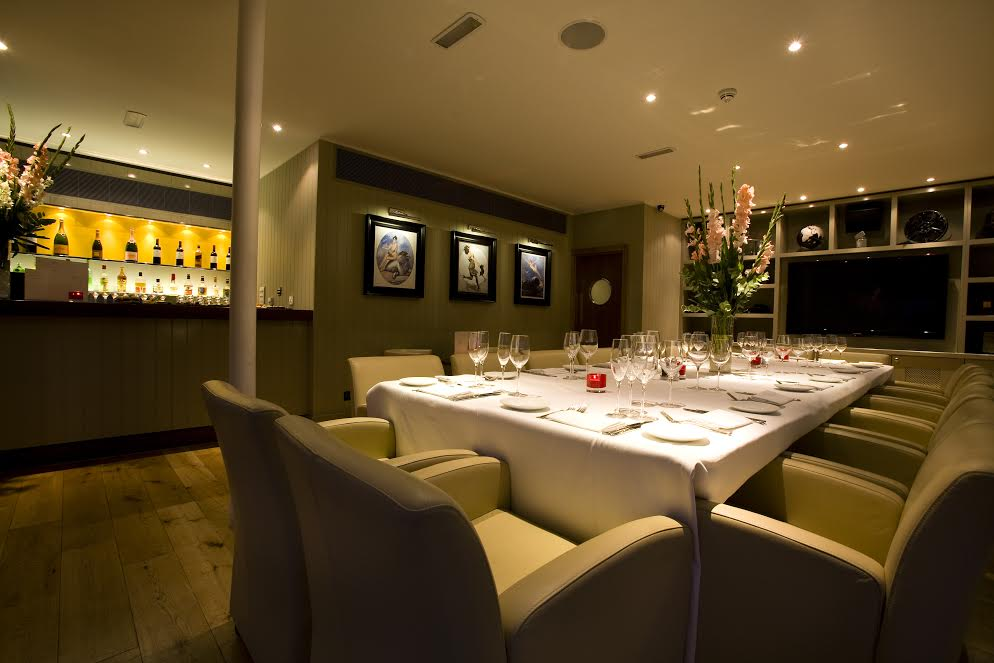Luxury private dining rooms at beaufort house chelsea for Best private dining rooms uk
