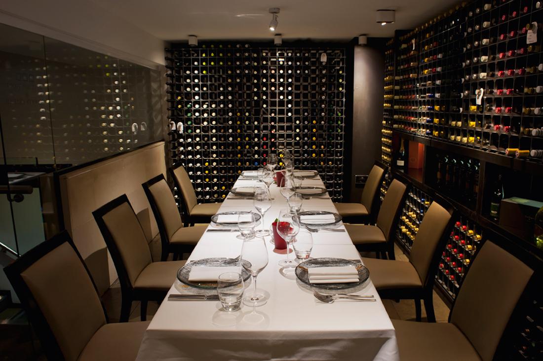 Benares Private Dining Room in Berkeley Square