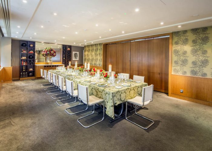 Luxury private dining rooms at bluebird chelsea for Best private dining rooms uk