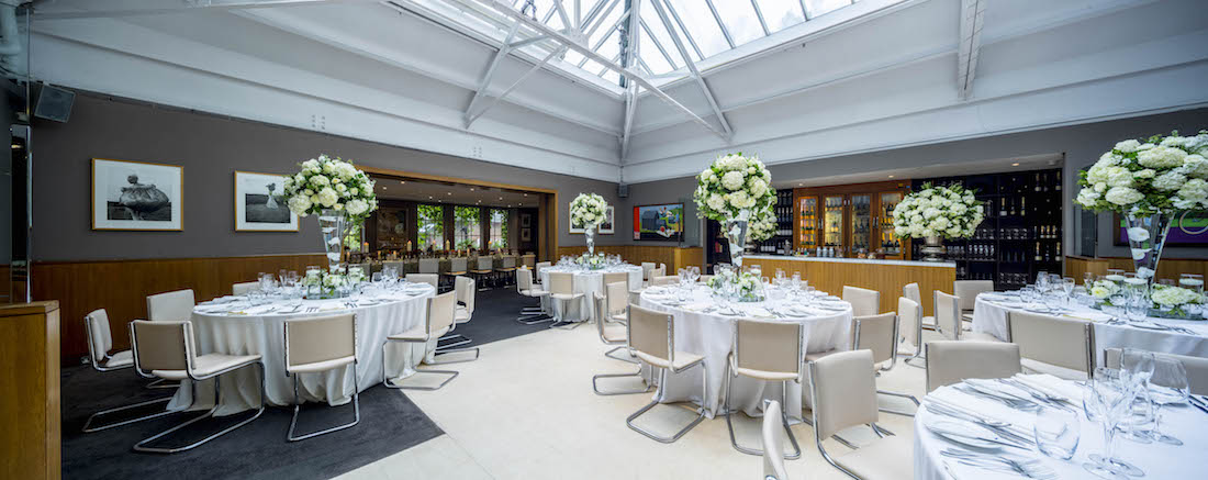 Luxury private dining rooms at bluebird chelsea for Private dining room 90277