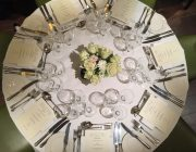 Boulestin Private Dining Image Wedding Table Set For 7 Guests