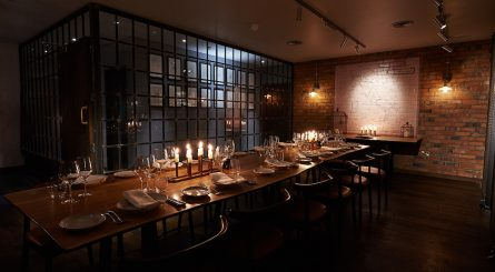 Canto Corvino Private Dining Room Image Candles On Table 1