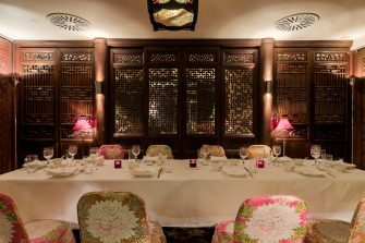 China Tang at The Dorchester   Pang Pong Banquet   Private Dining Image.
