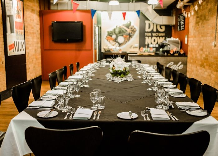 Luxury Private Dining Rooms At Churchill War Rooms