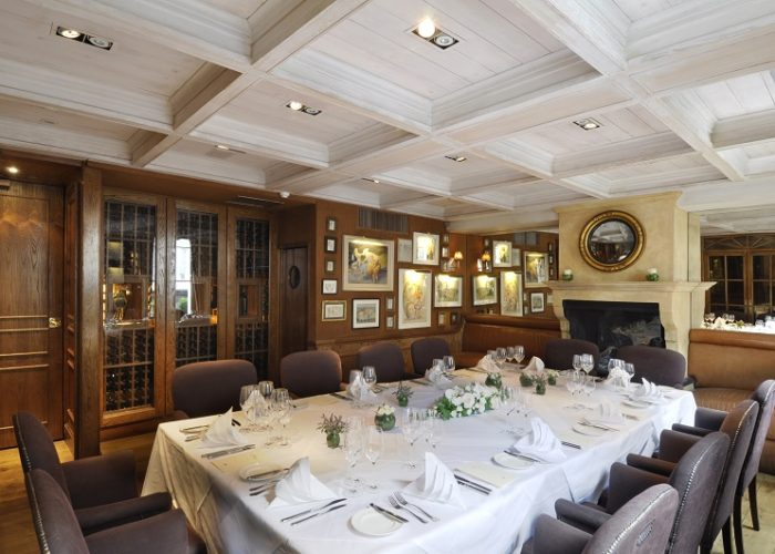 Luxury Private Dining Rooms At Clos Maggiore