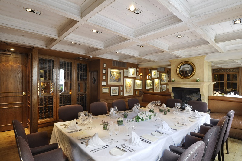 Luxury private dining rooms at clos maggiore for Best private dining rooms uk