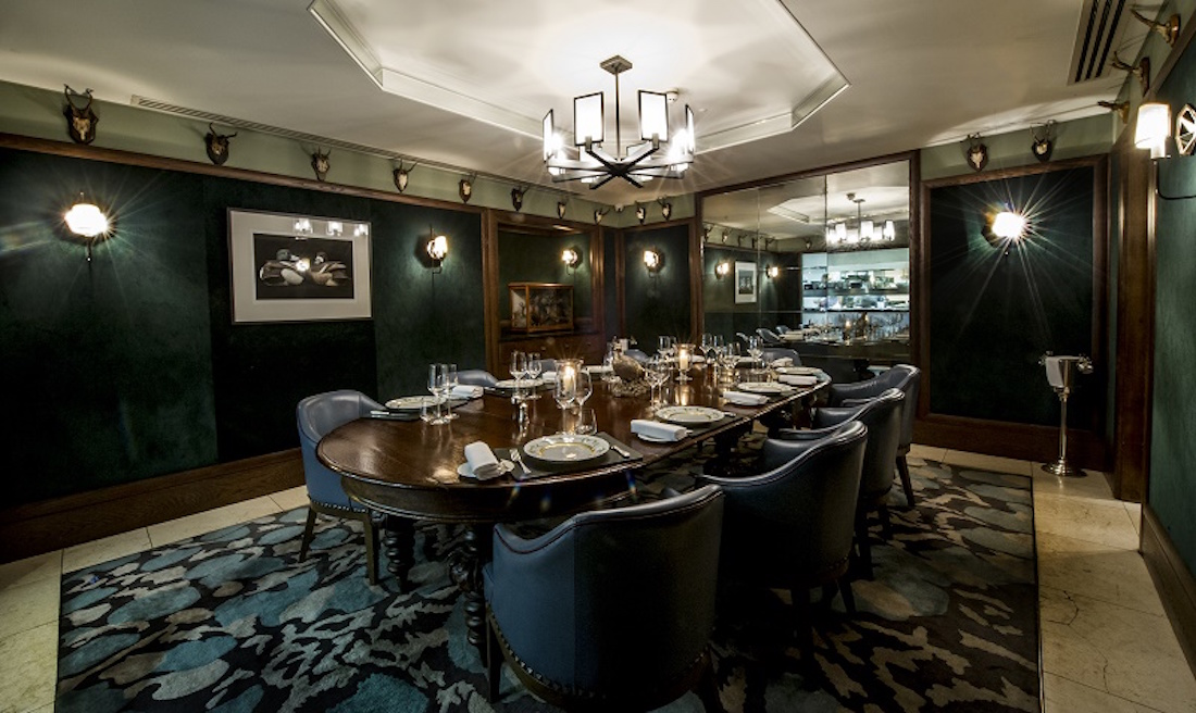 Corrigans Mayfair Private Dining Rooms in Mayfair