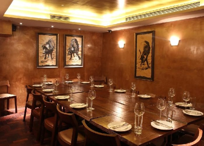 Luxury private dining rooms at ember yard - Restaurants with private dining room ...