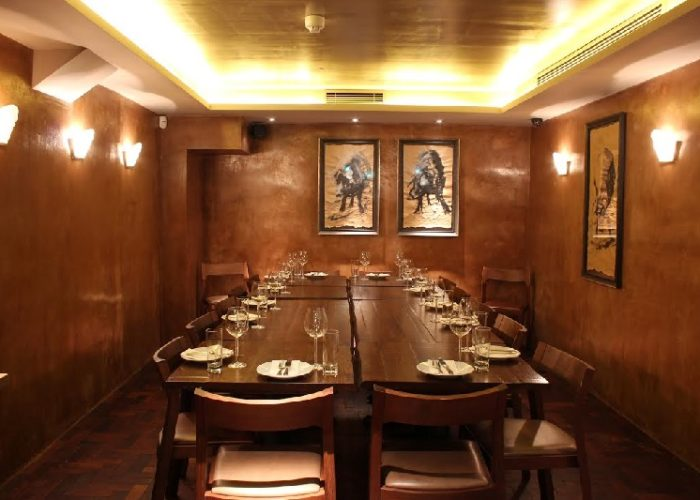 Luxury private dining rooms at ember yard for Best private dining rooms uk