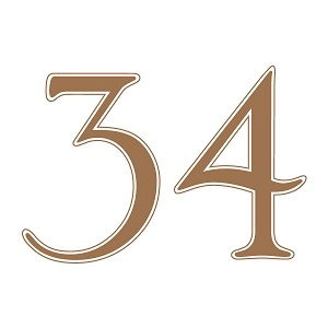 The Emin Room at 34 Restaurant logo