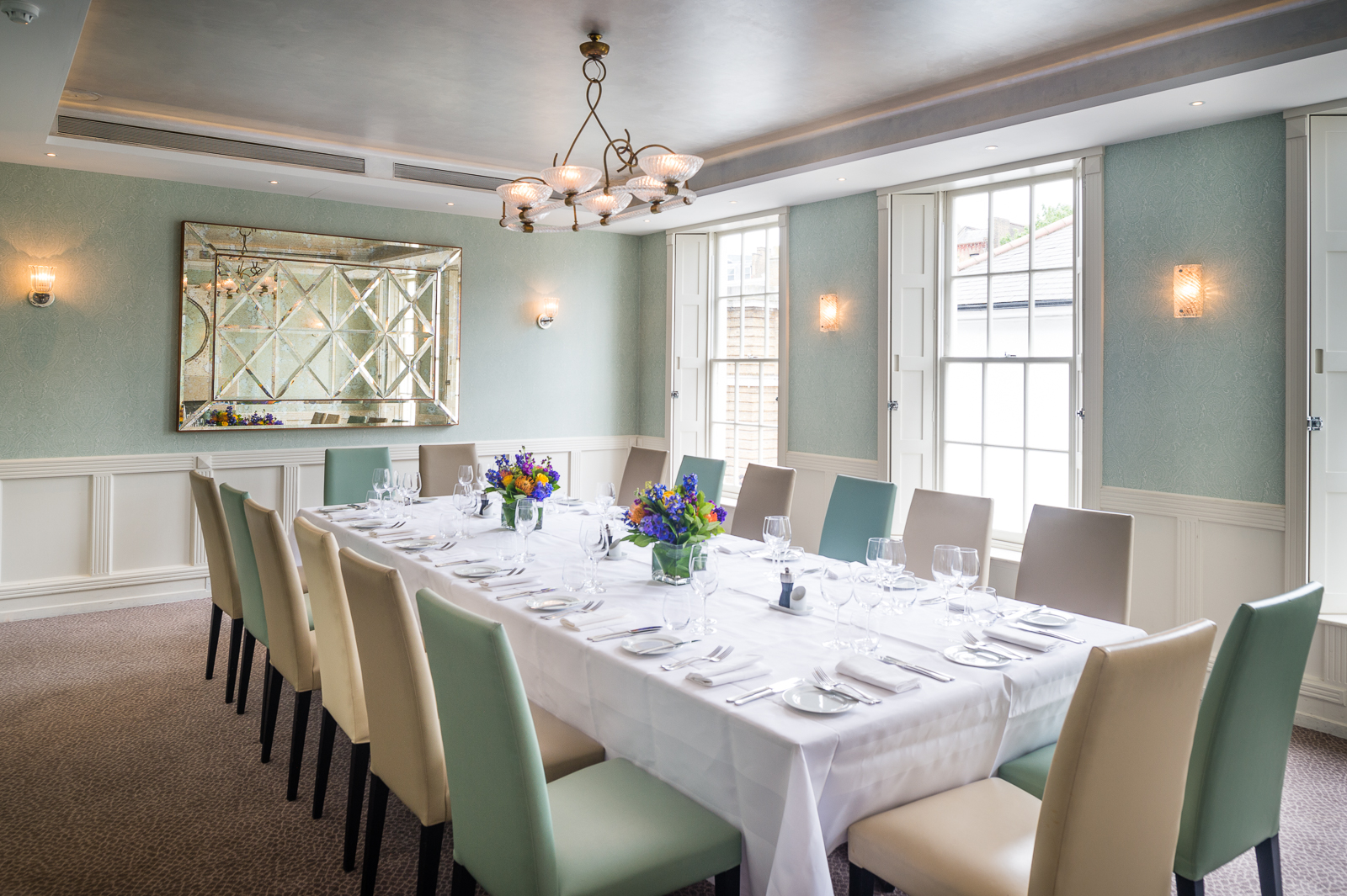 private dining rooms | Luxury Private Dining Rooms at Frederick's