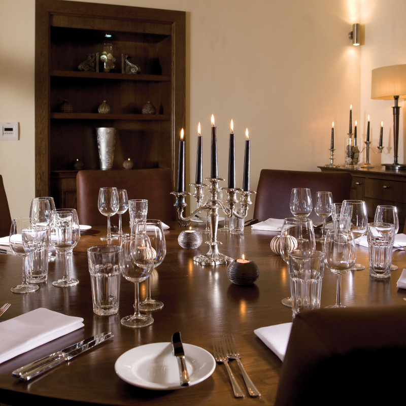 Luxury private dining rooms at hotel du vin bistro for Best private dining rooms edinburgh