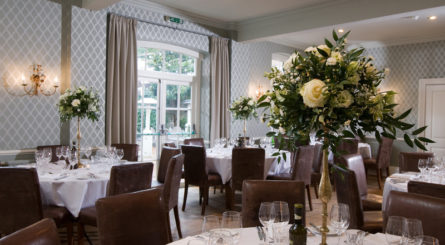 luxury private dining party rooms in hampshire
