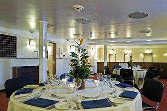 HMS Belfast   Private Dining Room 1