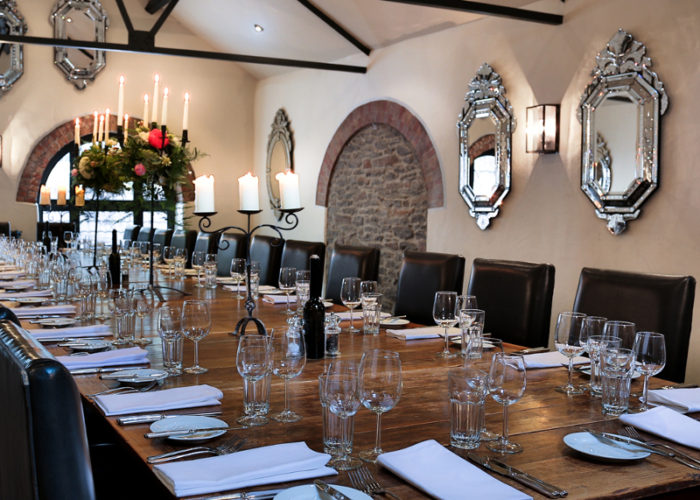 luxury private dining rooms at hotel du vin bistro bristol