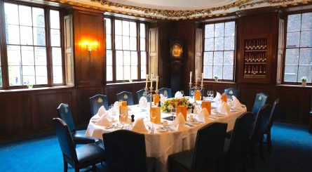 Herbert Berger At Innholders Hall The Old Court Room Oval Table Set For 14 Guests 1 445x245