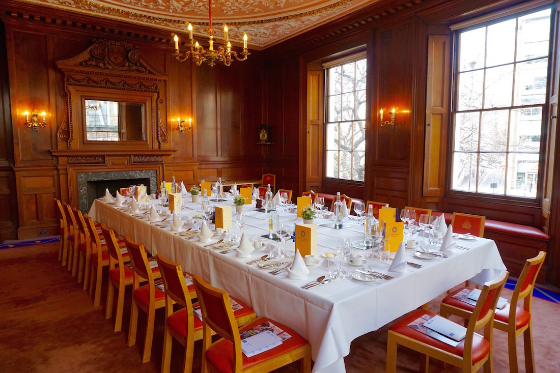 Luxury private dining rooms at herbert berger at for Best private dining rooms uk