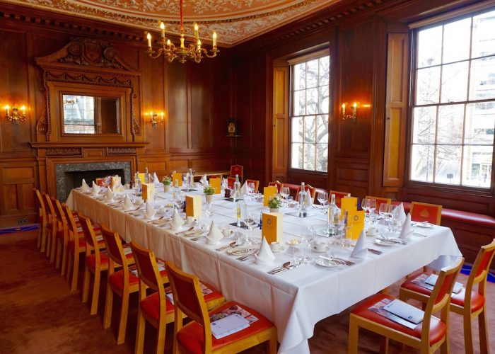 luxury private dining rooms at herbert berger at innholders hall