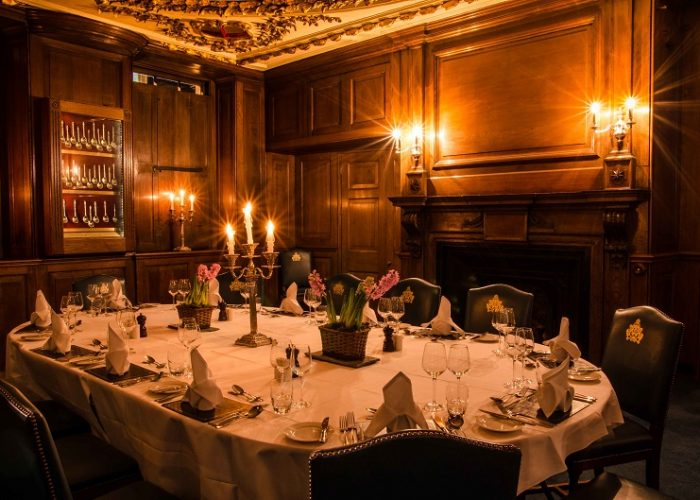 Luxury private dining rooms at herbert berger at for Best private dining rooms city of london