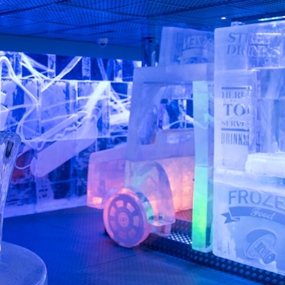 Luxury private dining rooms at icebar london for Best private dining rooms west end london