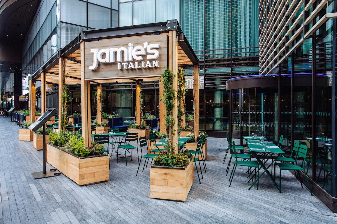 Jamie Oliver Restaurant London Victoria