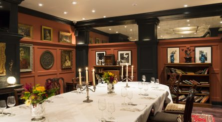 LEscargot   The Lobrary Private dining Room