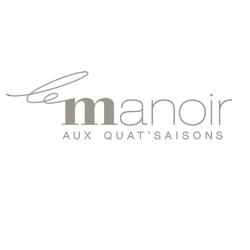 Le Manoir aux Quat'Saisons logo