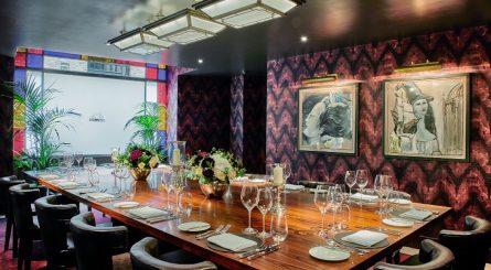 Le Pont de la Tour Private Dining Room Image Salon Privé