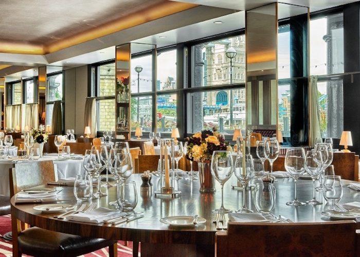 luxury private dining rooms at le pont de la tour. Black Bedroom Furniture Sets. Home Design Ideas