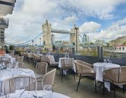 Le Pont de la Tour Restaurant Terrace Image With Tower Bridge In Background