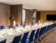 M By Montcalm - Private Dining Room - Long Set Table Image