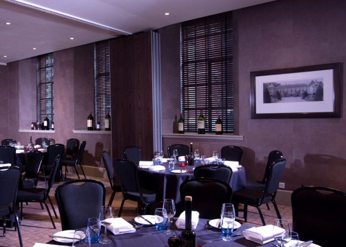 Luxury private dining rooms at malmaison leeds for Best private dining rooms chelsea