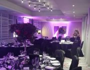 Malmaison Glasgow Private Dining Room Christmas Image