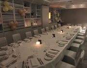 Malmaison Glasgow Private Dining Room Image