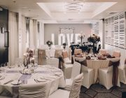 Malmaison Glasgow Private Dining Room Wedding Image 1