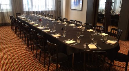 Malmaison London - Mal One - Private Dining Room - Set Table Image2