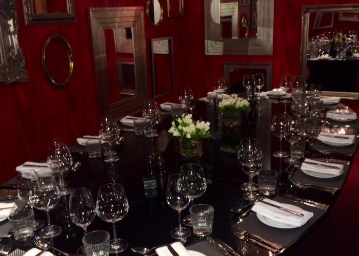 Luxury Private Dining Rooms at Malmaison - London