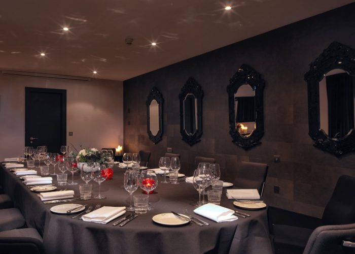Luxury Private Dining Rooms At Malmaison Aberdeen