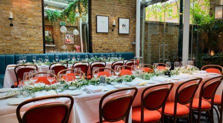 Manicomio Chelsea Private Dining Room Image Daylight 445x245